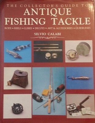 ANTIQUE FISHING EQUIPMENT ID GUIDE COLLECTORS BOOK Rod Reel Decoy Lure ++