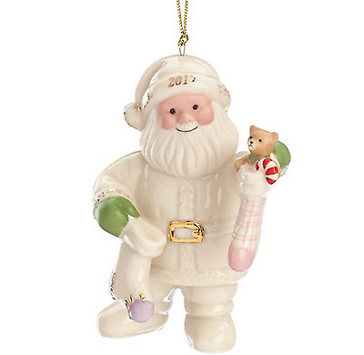 Lenox 2017 Santa's Stockings Ornament