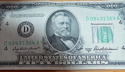 1950 Federal Reserve Note Fifty Dollar Bill