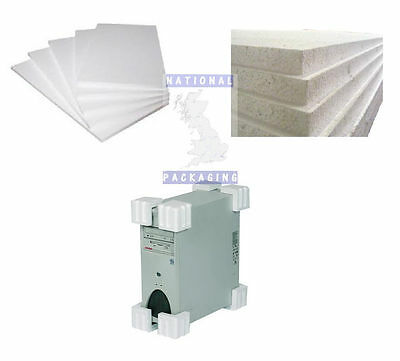 Polystyrene Foam Sheets + Corners Guards - All Sizes READ LISTING FOR DELIVERY
