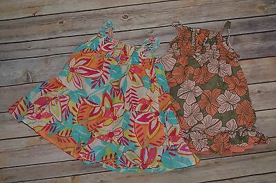 Old Navy Baby Girls Lot Of 2  Summer Dresses, Size 6-12 Months PRETTY EUC floral