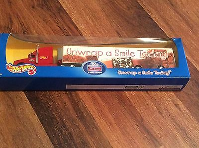 NEW OLD STOCK Hot Wheels Little Debbie Tractor Trailer Mattel 40th unopened