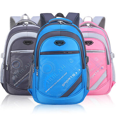 Big Capacity Backpack Children School Bags For Girls Boys Waterproof Leisure