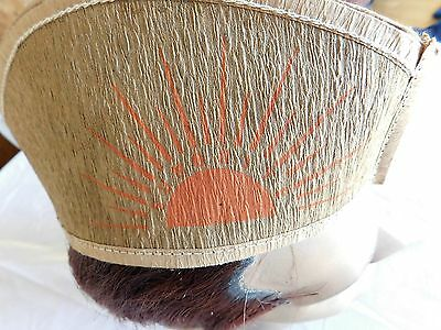 Cute Vintage SUNBRITE Advertising Crepe Paper Hat - Household Cleaning Soap ?
