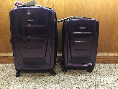 "Samsonite Winfield 2 Fashion 2-Piece Hardside Luggage Set 24"" & 20"" NEW"