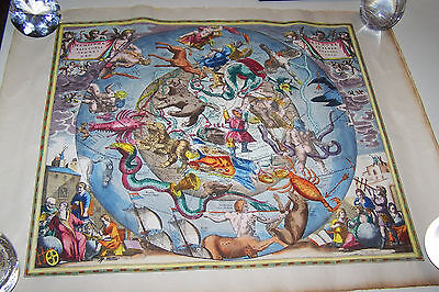 Item: Vintage/Antique? Celestial Chart of the Zodiac 1660 Dimensions: 25 ¼ x 19