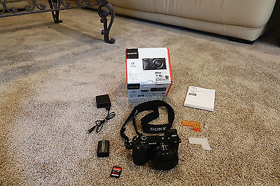 Sony A6000 24.3MP Digital Camera with 16-50mm Lens and extra accessories