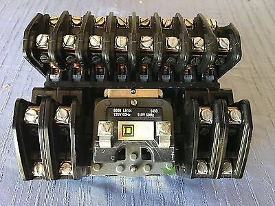 Square D 8903 L01200 SER-0-1450 Lighting Contactor with 120 volt coil