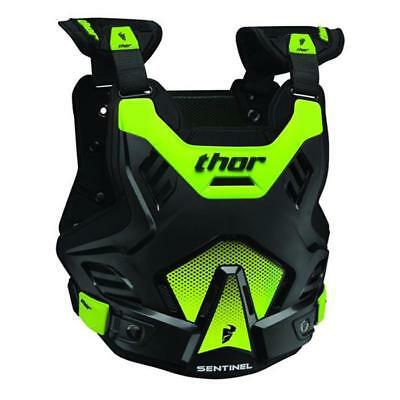 Thor 2016 Motocross Chest Armour - Sentinel GP - Size M-L - Schwarz Green
