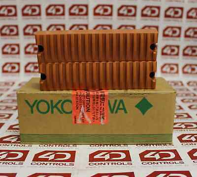 Yokogawa SDCV01 Dummy Cover for I/O Modules Set of 2 Orange - New Surplus Sealed