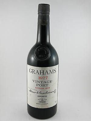 1977 Graham's Vintage Port Perfect 40th Birthday Gift #1