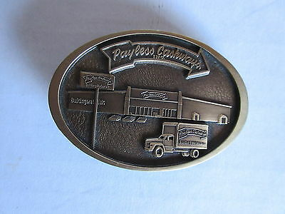 Payless Cashways Belt Buckle Mint Condition Made by Jostens