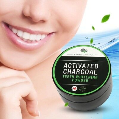 Teeth Whitening Powder Natural Organic Activated Charcoal Bamboo Toothpaste Pro