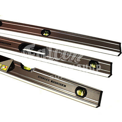 "Stanley Fatmax Extreme 3 Piece Triple Set Pro Box Beam Spirit Level 24"" 48"" 72"""