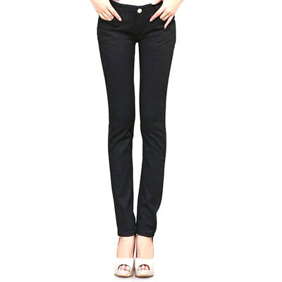 Women Skinny Slim Fit Pencil Pants Slim Jeans Candy Stretch Jeans Trousers Hot