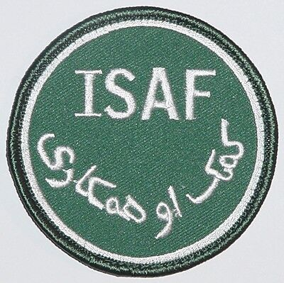 Aufnäher Patch ISAF International Security Assistance Force ........A2811K