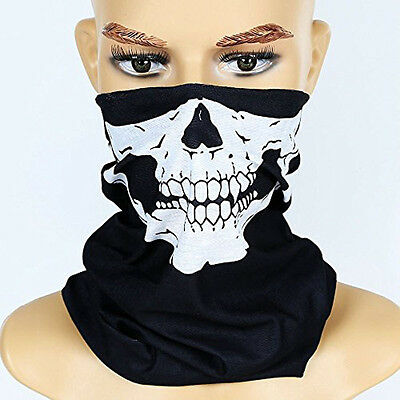 1* Fun Skull Bandana Bike Cycling Motorcycle Scarves Scarf Neck Face Mask Gifts