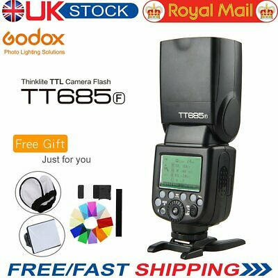 UK Godox TT685F 2.4G TTL 1/8000s Flashgun Speedlite for Fujifilm Cameras + Gift