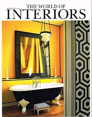 THE WORLD OF INTERIORS 12/2007 BARBARA STOELTIE Jaime Parlade WOLVERTON @excl