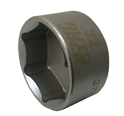 Low Profile Oil Filter Socket 32mm 3/8 Inch Removal Cap