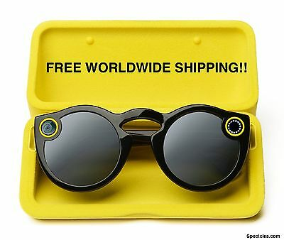 Snapchat Snap Spectacles Black - FREE WORLDWIDE SHIPPING!!