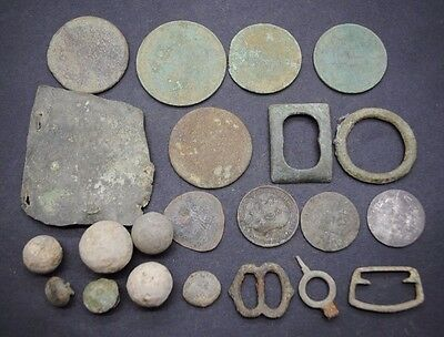 Interesting Mixed Lot Of Detector Finds.