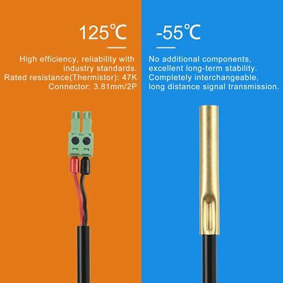 RTS300R47K3.81A Temperature Controller Sensor Cable Probe Thermostat Wi GT