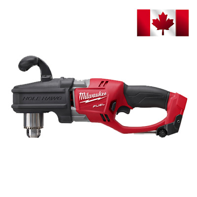 """New Milwaukee Fuel 2707-20 M18 18V 1/2"""" Brushless HOLE HAWG Right Angle Drill"""