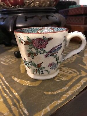 Antique Chinese Porcelain Rose Cup