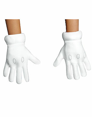 SUPER MARIO Gloves Child One Size *NEW FREE SHIPPING*