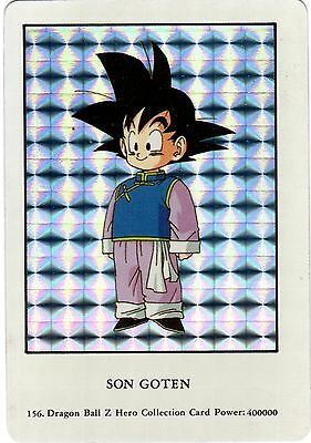Dragon Ball Z Trading Card # 156 SON GOTEN Prism