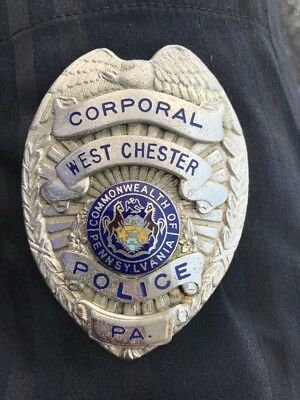 Obsolete, Vintage West Chester Pa Police Badge