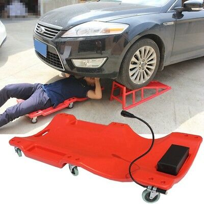 New Mechanic Creeper Cart Wheels PE Crawler Trolley Comfort Headrest Repair Tool