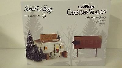 Dept 56 Snow Village The Griswold Family Buys A Tree 4054985 New MIB 2 Pc Set