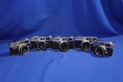LOT of Vintage Canon Film Cameras #L1983BP