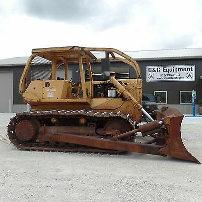 1980 International Harvester Dresser TD20-E DOZER  Good running operating VIDEO