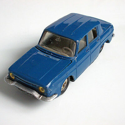 Original Altes Plastik Norev # 9 Renault R 10  In 1:43 Made In France