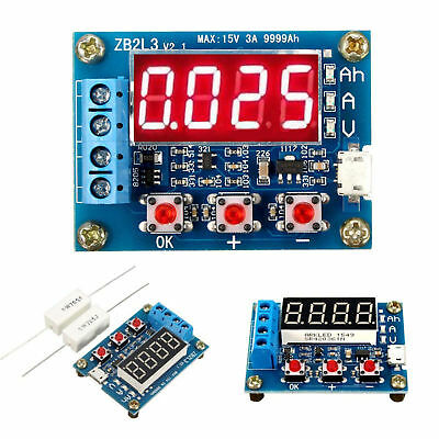 Li-ion Lithium Lead-acid Battery Capacity Meter Discharge Tester Analyzer