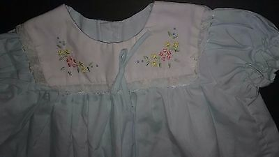 Vintage baby clothes , baby girl dress size 6-12 month, Beautiful Dress ON SALE