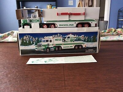 1995 Hess Toy Truck And Helicopter