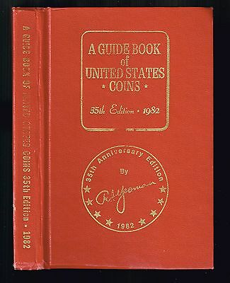 Guidebook of United States Coins by R.S. Yeoman 35th Ed. 1982 Whitman RED BOOK
