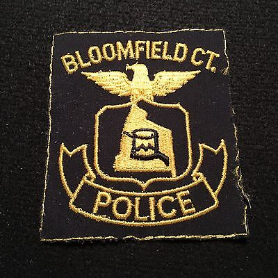 Connecticut - Bloomfield Police Department Patch CT