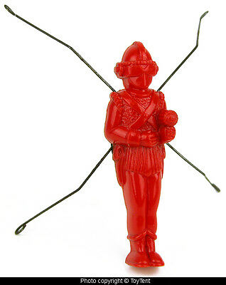 Jumping Space Man vintage plastic suction cup astronaut with spring legs