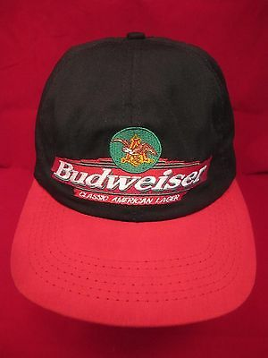 Budweiser King of Beers Snapback Cap/Hat - Made in USA - American Lager