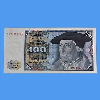 Germany Banknote Deutsche 100 Marks 1970 Circulated