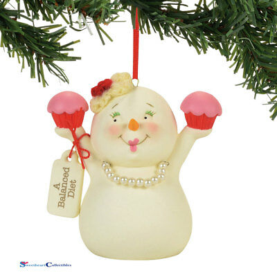 Dept 56 Snowpinions 4058363 A Balanced Diet Ornament 2017