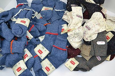 Vtg 1980's Lot of 78 HANES So-Lara and ORLON Blend Socks THICK Nice! 9-11