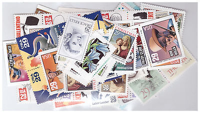Us $40.00 Face Mint/nh Postage Lot Of 29¢ Values