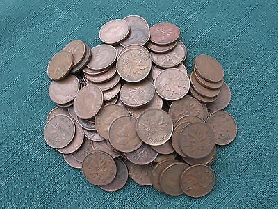 King George 6Th Canadian Cents 1937-1952