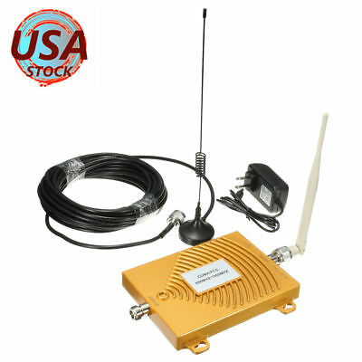 CDMA PCS Dual Band Cell Phone Signal 850/1900MHz Booster Amplifier Repeater Kit